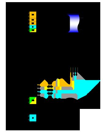 Схема подключения приточной установки Колибри 700 GTC