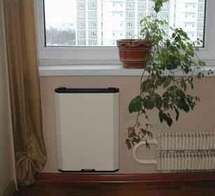 Приточная вентиляционная установка Селенга в интерьере